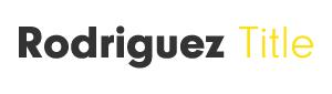 Rodriguez Title LLC
